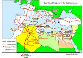 gasdotto algeria
