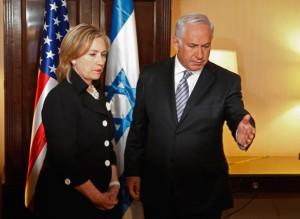 Benjamin+Netanyahu+Hillary+Clinton