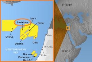 leviathan libano israele