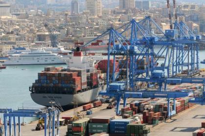 Il porto di Genova 04/09/2010