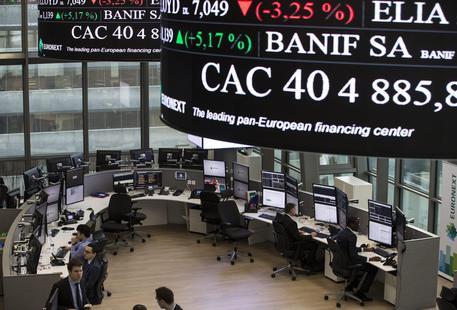 Euronext French market exchange