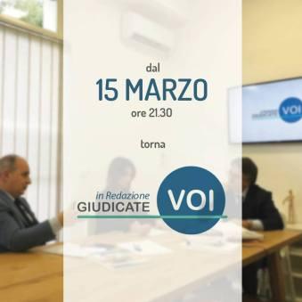 """""""GIUDICATE VOI IN REDAZIONE"""":IL TALKSHOW DI APPROFONDIMENTO GIORNALISTICO IN ONDA SU ITALIA MIA DAL 15 MARZO"""