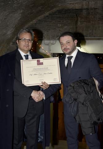 Da sx Antonio Enrico Maria Giordano con Cesare Cilvini dell AUGE_photomarco (212) (Small) (1)