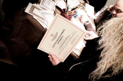 diploma del caligrafo arabo che ha esguito performance live_L'Italia incontra l'Egitto_Giovanna Onofri_57 (Small).jpg